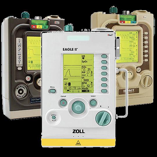 ZOLL High-quality ventilation