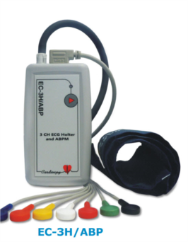 EC-3H/ABP COMBINED HOLTER ECG AND ABP SYSTEM