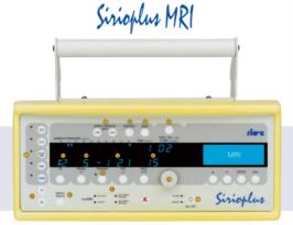 Sirio Plus MRI Tranport Ventilator